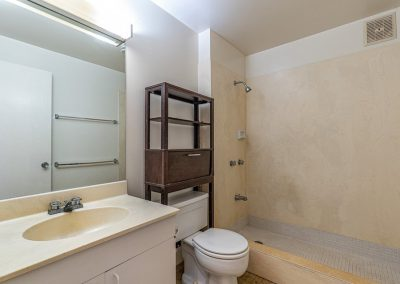 Downstairs bathroom in Aiea Heights house for sale