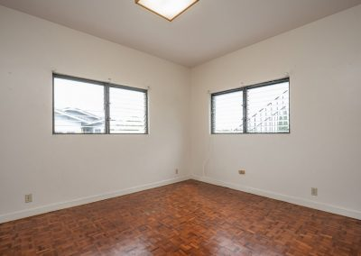Bottom floor 4th bedroom in Aiea Heights house for sale