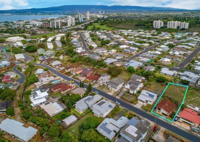 Views of Pearl Harbor from Aiea Heights house for sale