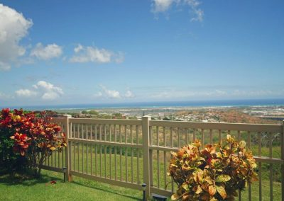 Views from Diamond Head to Barber's Point at Makakilo town house for sale