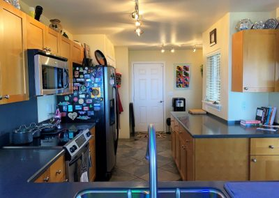 A lot of counter space in large kitchen of Makakilo house for sale