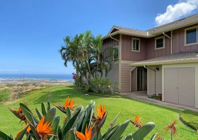 Entrance to Makakilo town house for sale with great panoramic ocean views