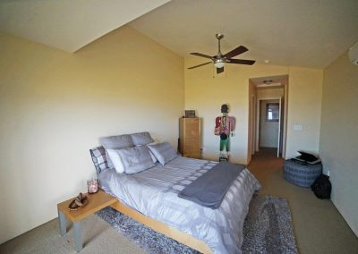 Large master bedroom in Makakilo town house for sale